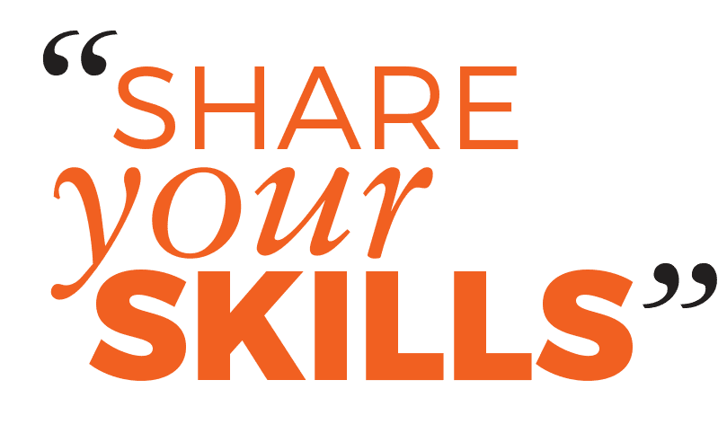 Share Your Skills